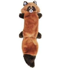 Raccoon squeaky toy