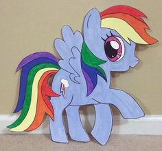 1-My-Little-Pony-Birthday-Party-Room-Decoration-Cutout-Any-Character-Standee