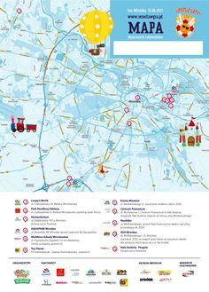 """mapa Gry Miejskiej """"Uratuj Lato"""" organizowanej przez #Loopy's #World"""