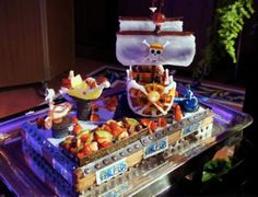 36 Best One Piece Images Anime Cake Birthday Cakes Pies
