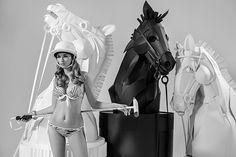 Paper chess horses on Behance