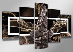 Abstract Boeddha 200 x 100 cm