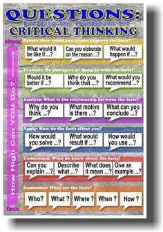 Questions: Building the Foundation for Critical Thinking