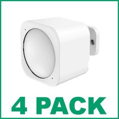(4) Aeotec by Aeon Labs Gen5 Z-Wave Plus 6-in-1 Multisensor 6 ZW100-A - 4 Pack