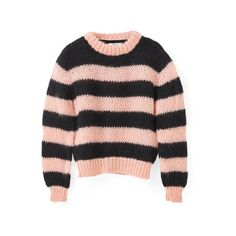 Faucher Pullover (1.090 BRL) ❤ liked on Polyvore featuring tops, sweaters, oversized pullover, oversized tops, pullover top, oversized pullover sweater and oversized sweater