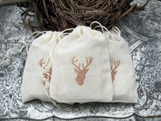 Woodland Baby Shower Woodland Deer Favors by 4SistersFarmSoapCo