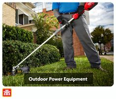 Here is what you need to keep your yard in tip-top shape with the right power equipment.