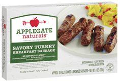 Applegate Naturals Savory Turkey Breakfast Sausage