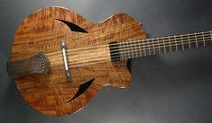 2012 Custom Archtop Acoustic #185 // Myka Guitars