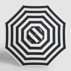 Bring maximum shade to your outdoor oasis with our exclusive umbrella canopy featuring a classic black stripe pattern. With a variety of designs and colors to choose from, our assortment offers a brilliant way to customize and refresh the look of your space on a whim.