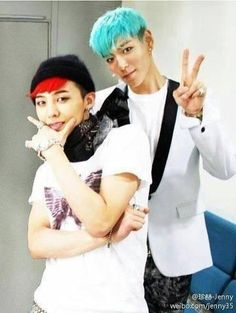 Big Bang G Dragon & TOP
