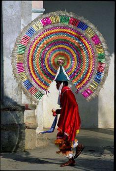 """Dance of the Quetzals  . Puebla, Mexico """""""
