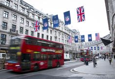 London's Regent Street welcomes the NFL