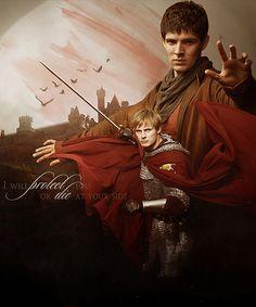 Merlin - Colin Morgan - Bradley James