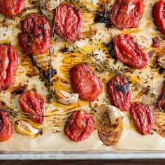 The Simple Trick That Makes Canned Tomatoes Taste Amazing. They caramelize in the oven and are perfect for everything from sandwiches to sauce. (Just be sure to check for BPA's.)