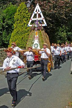 Sowerby Bridge Rushbearing Festival: The Rushcart