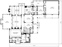 Tee shaped house plans