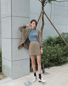 Korean Fashion – How to Dress up Korean Style – Designer Fashion Tips Daily Fashion, Fashion 101, Fashion Images, Fashion Tips For Women, Girl Fashion, Fashion Looks, Fashion Outfits, Fashion Design, Fashion Styles
