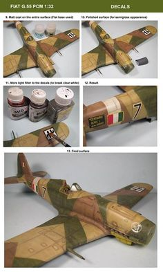 work in progress PCM 1:32 FIAT G.55 by Bera Károly