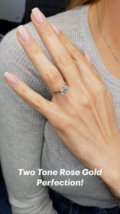 Cute Engagement Rings, Diamond Engagement Rings, Big Diamond Rings, Engagement Nails, Hand Jewelry, Jewellery, Gold Ring Designs, Dream Ring, Fashion Rings