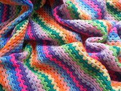 Ravelry: Granny Stripes pattern by Lucy of Attic24