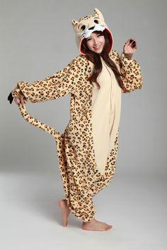 Leopard Onesie Kigurumi Pajamas - 4kigurumi.com  http://www.4kigurumi.com/leopard-onesie-kigurumi-pajamas