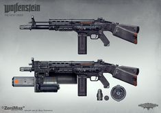 Concept art from Wolfenstein: The New Order - AR 60 with extras, axel torvenius on ArtStation at https://www.artstation.com/artwork/concept-art-from-wolfenstein-the-new-order-ar-60-with-extras