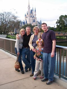 Taylor and her family had a magical time in #Disney World in 2006.