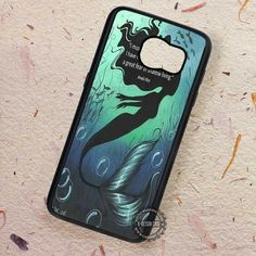 Must Be a Quotes Ariel The Little Mermaid - Samsung Galaxy S7 S6 S5 Note 7 Cases & Covers