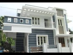 1600 Sqft Independent House in 3 900 Cents at Thirumuppam near Varappuzha Koonammavu 59 Lakhs Indian House Exterior Design, House Arch Design, Classic House Exterior, House Outside Design, Kerala House Design, Bungalow House Design, House Design Photos, Modern Small House Design, Classic House Design