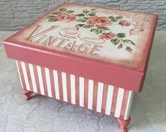 caixa-vintage-joias-fotos-objetos-mdf-vintage