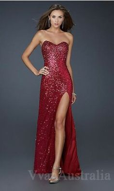 red prom dress | Prom Dresses | Pinterest | Prom, Gowns and Fancy