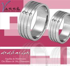 87c85a046950 Argollas de Matrimonio Oro Blanco de 14k   Diamante   Churumbelas Platino    Diamante  Joyería   Anillo de Compromiso Platino   Diamante   joyería ...