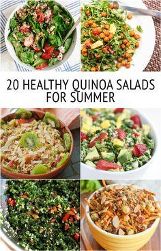 20 HEALTHY Quinoa Salad Recipes for Summer