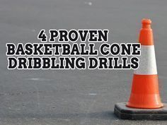 It takes a lot of practice to be a good ball handler in basketball. These four proven basketball cone dribbling drills will help you master your technique. #basketballdrills #basketballdrillsdribbling
