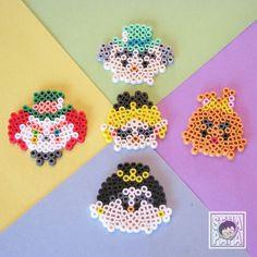 Tsum Tsum Alice perler beads by senapapa.beads