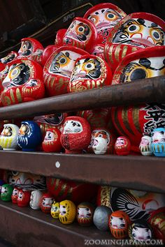 "Takasaki City (高崎市) is only a 50-mins bullet train ride from Tokyo. It's famous for daruma as it's the leading producer of the ""lucky charm"" dolls in Japan."
