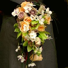 Hand tied bouquet with e.xtension