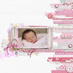 Baby Kaiya - Digital Scrapbooking Ideas - DesignerDigitals