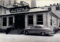 The old Carling's beer store, earlier a Kuntz Brewery store, was in front of the brewery at King and William streets in Waterloo.