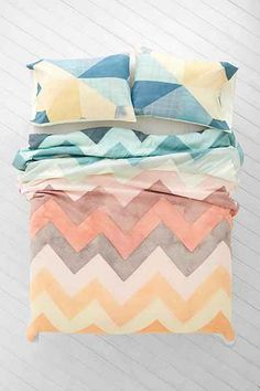 """URBAN OUTFITTERS  Joanna Goss For DENY Beamscape Duvet Cover  Twin XL   66""""L   X   88""""H     $129 Full/Queen   88""""L   X   88""""H      $149 King    88""""L   X   104""""H      $169"""
