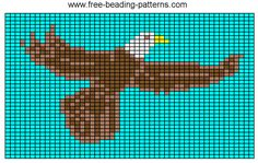 loom-beadwork-design-flying-eagle