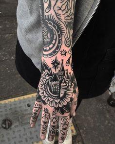 Best Hand Tattoo Ideas for Men – Inked Guys - Forearm Tattoos - - tattoo - Tattoo Hand Tattoos, Forearm Tattoos, Finger Tattoos, Body Art Tattoos, Sleeve Tattoos, Cool Tattoos, Knuckle Tattoos, Tattoo Sleeves, Girl Leg Tattoos