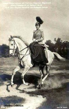 Wilhelm Ii, Kaiser Wilhelm, Vintage Horse, Vintage Circus, Riding Habit, Side Saddle, Old Portraits, Fashion Vocabulary, Bad Blood