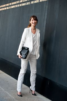 Pinned from Gastro Chic: All White, Outside Theyskens' Theory