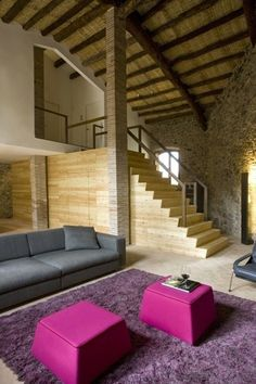 Restored winery house in Spain