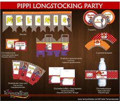 pippi longstockin printable party
