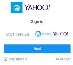 Att net log in email