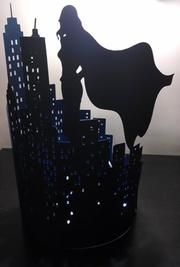 Home of the New York skyline centerpiece and a whole lot more. We create party supplies that fit most any budget and theme. And yes we do custom designs. Leave New York Skyline Silhouette, Superhero Centerpiece, Diy Dog Gate, New York Party, Female Superhero, Christmas Bows, Party Centerpieces, For Your Party, Diy Shirt