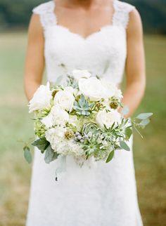 green + white bouquet   Graham Terhune #wedding